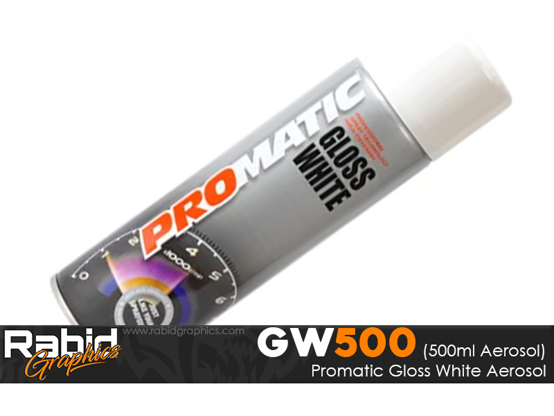 ProMATIC Aerosol Gloss White (500ml)