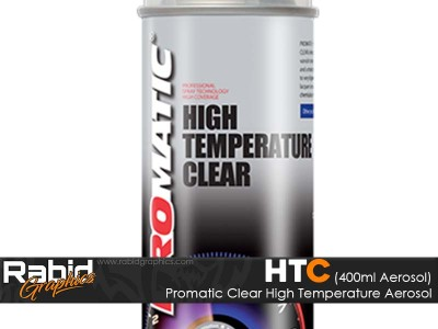 Promatic High Temperature Aerosol - Clear (400ml)