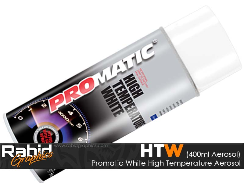 Promatic High Temperature Aerosol - White (400ml)