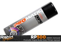 ProMATIC Aerosol Rapid Build Grey Primer (500ml)