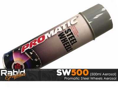 ProMATIC Aerosol Steel Wheels (500ml)