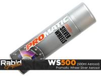 ProMATIC Aerosol Wheel Silver (500ml)