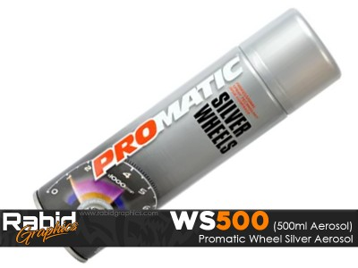 ProMATIC Aerosol Wheel Silver (500ml)