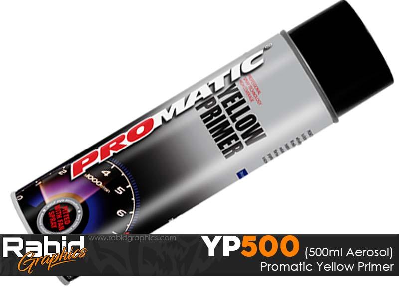 ProMATIC Aerosol Yellow Primer (500ml)