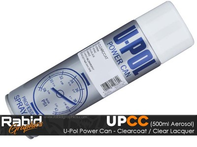U-Pol Power Can - Clearcoat (500ml)