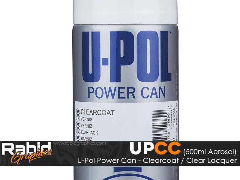 U-Pol Power Can - Clearcoat (500ml)