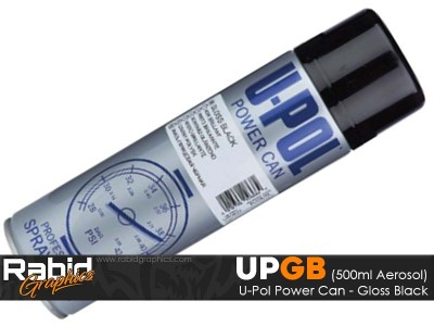 U-Pol Power Can - Gloss Black (500ml)