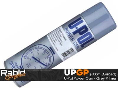 U-Pol Power Can - Grey Primer (500ml)