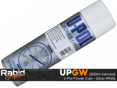 U-Pol Power Can - Gloss White (500ml)