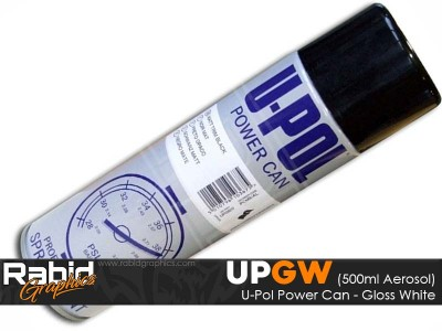 U-Pol Power Can - Matt Black (500ml)