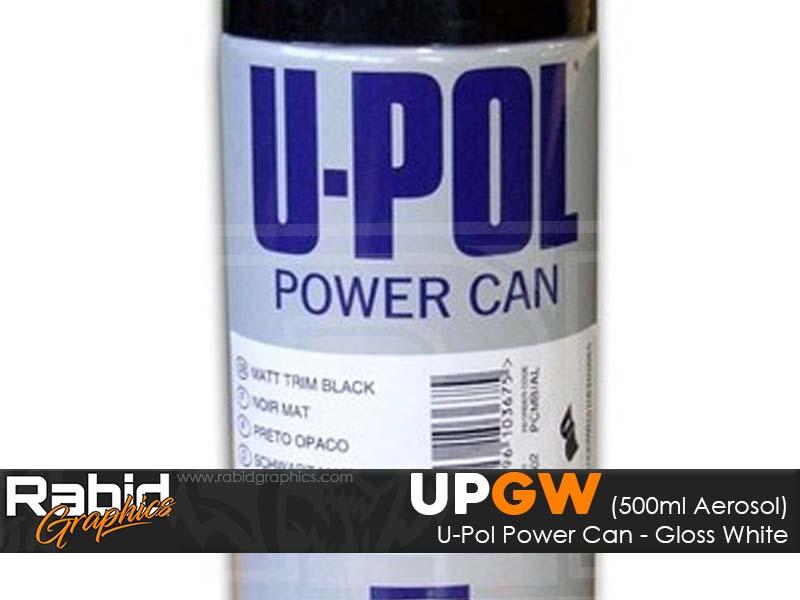 U-Pol Power Can - Matt Black (500ml)