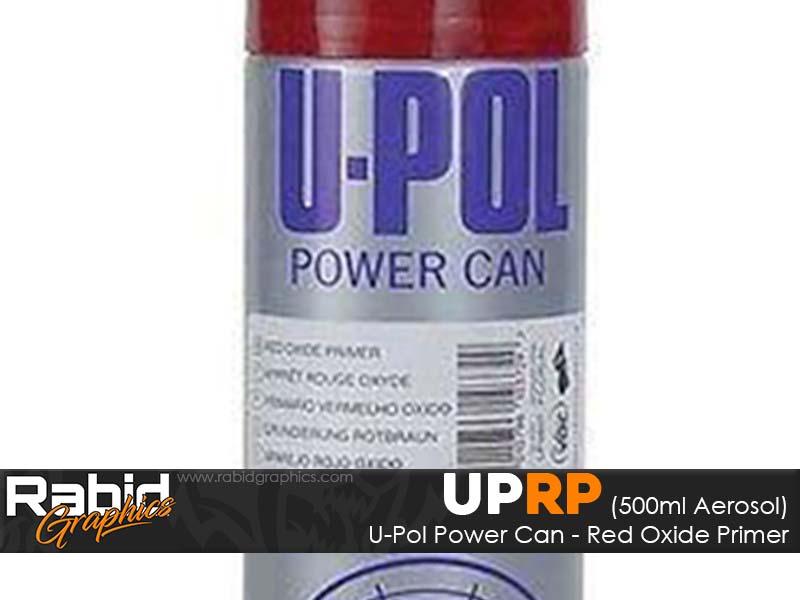 U-Pol Power Can - Red Oxide Primer (500ml)