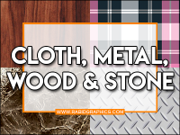 Cloth/Metal/Wood/Stone